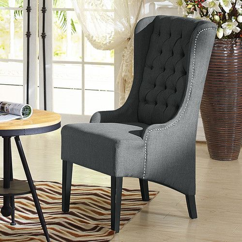 Baxton Studio Vincent Wingback Chair Birchlane Accent
