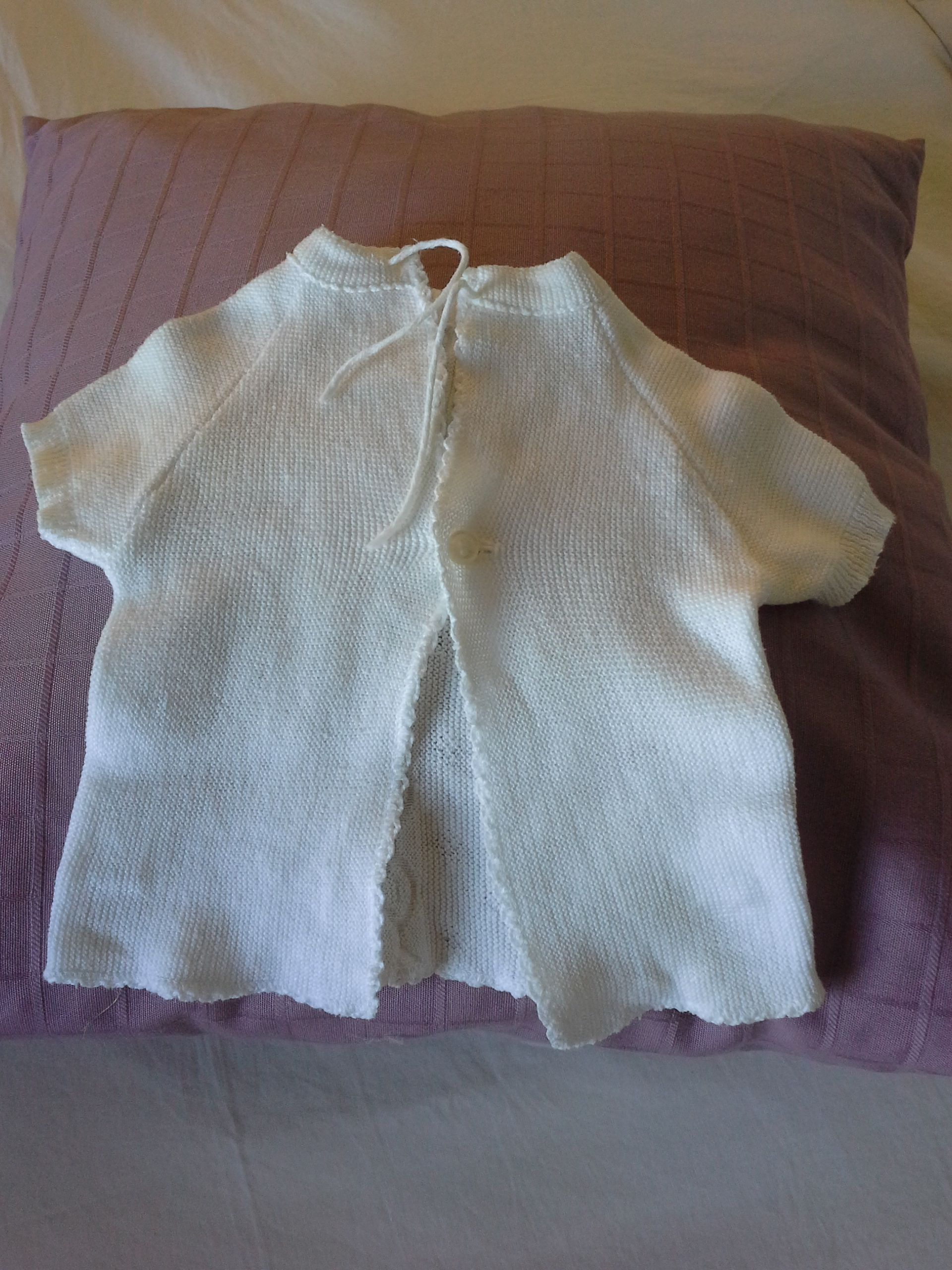 #Babyvintage find #crochet #babyjacket