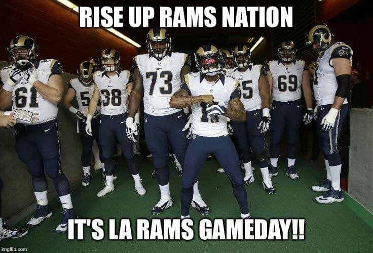 La Rams Nation Los Angeles Rams Ram Photos Ram Photos Hd