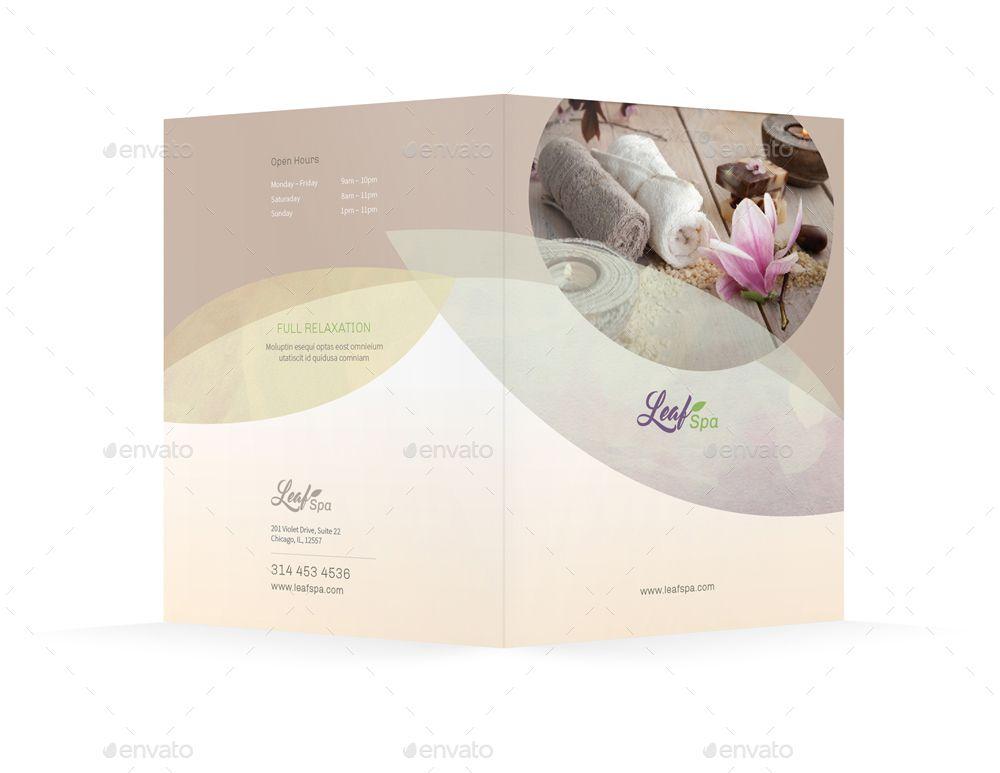 Spa Bifold  Halffold Brochure   Spa Designs    Spa