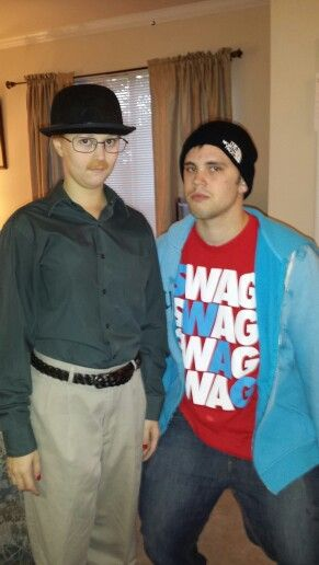 walter and jesse from breaking bad best couples costume weve ever thought of - Halloween Costume Breaking Bad