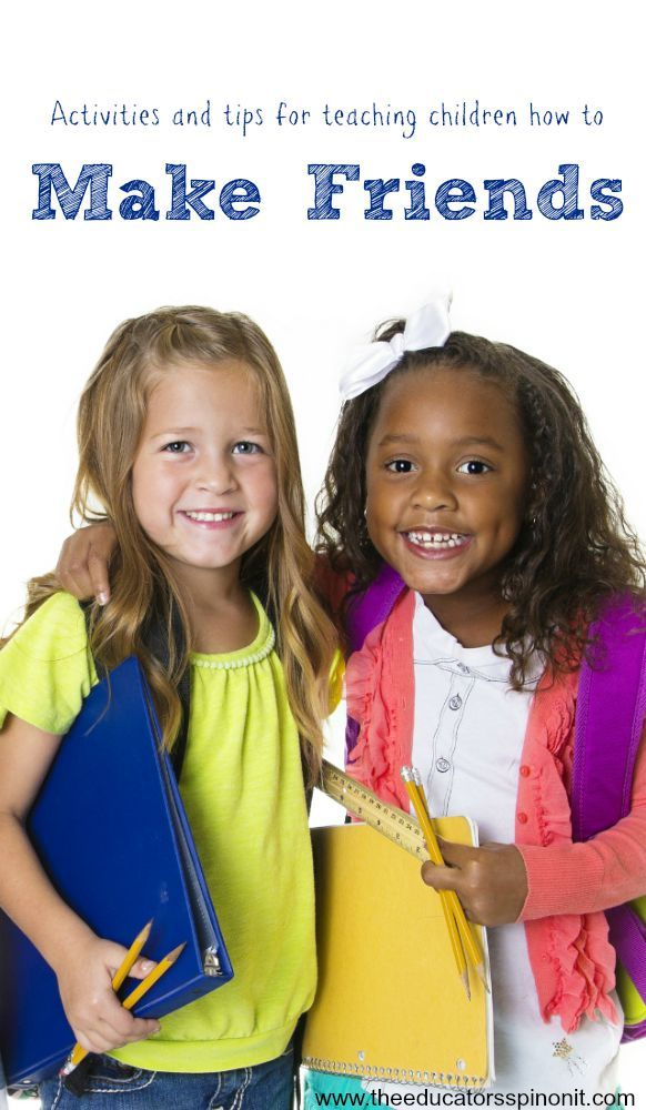 Teaching Kids How to Make Friends | Friendship, Classroom and ...