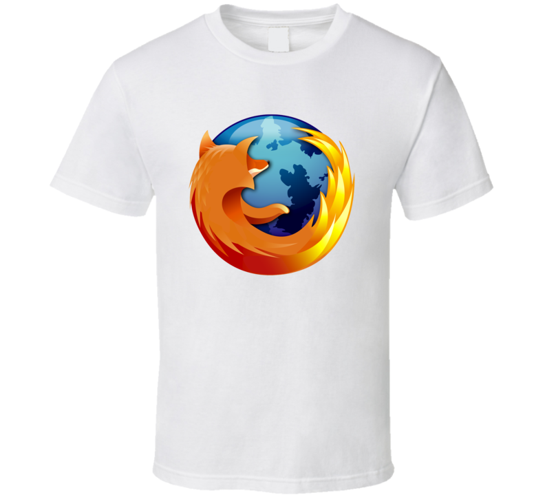 Firefox Browser Cool App Icon T Shirt App icon