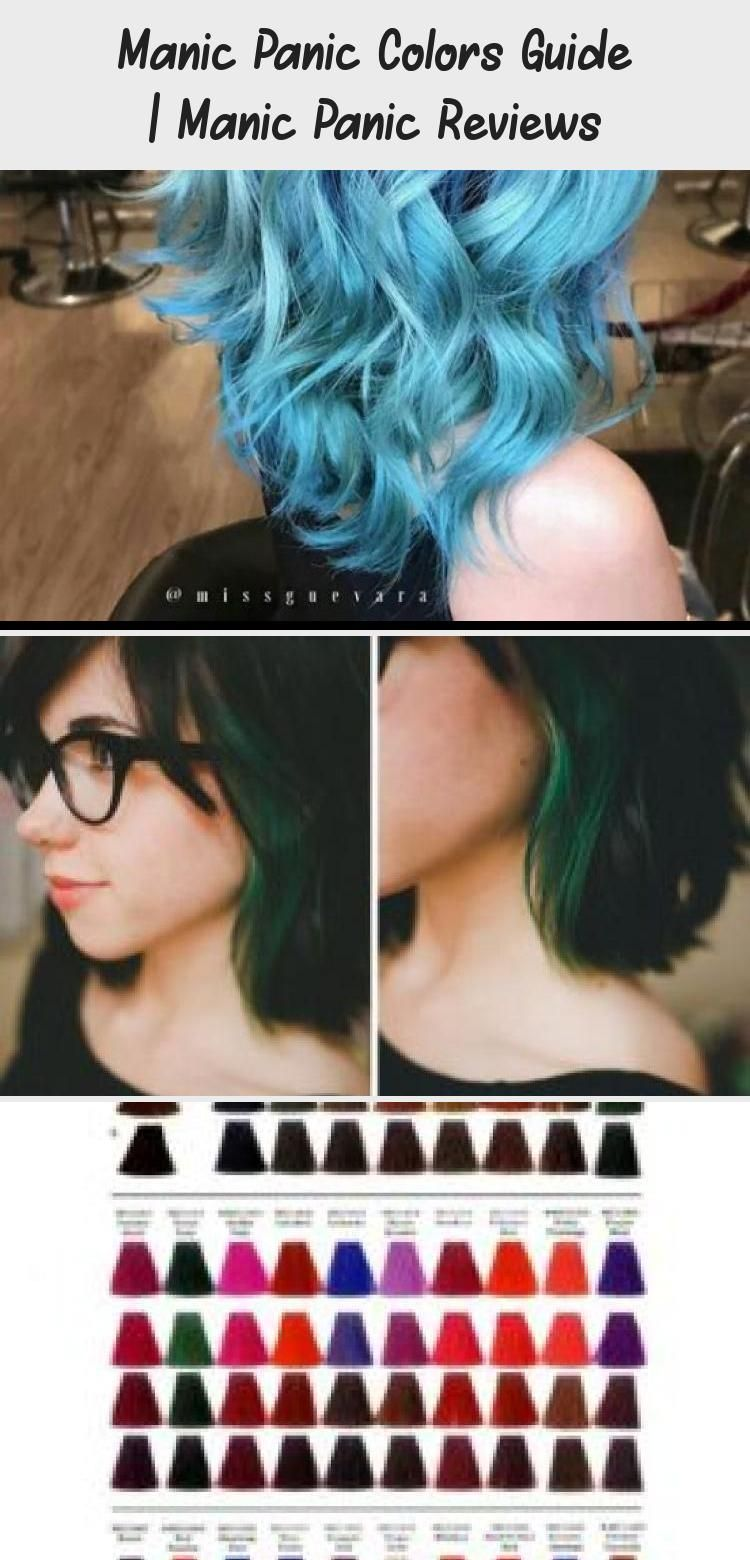 Manic Panic Colors Guide Manicpanic Colors Hairdye Guide Dyedhairbeforeanda Colors Dyedhai In 2020 Manic Panic Colors Manic Panic Hair Dye Manic Panic Reviews