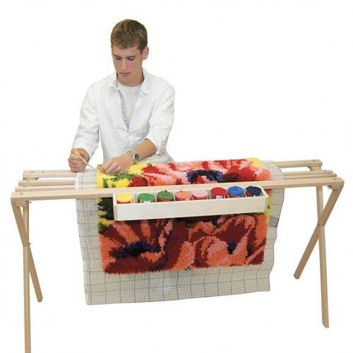 Moose Rug Hooking Kit: Latch Hook Rugs, Frame Crafts And Craft