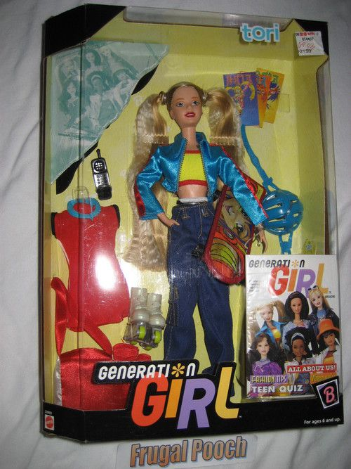 Generation Girl Barbie (Tori) I had this one too