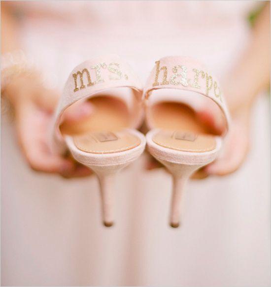 Zapatos nominativos ;-)