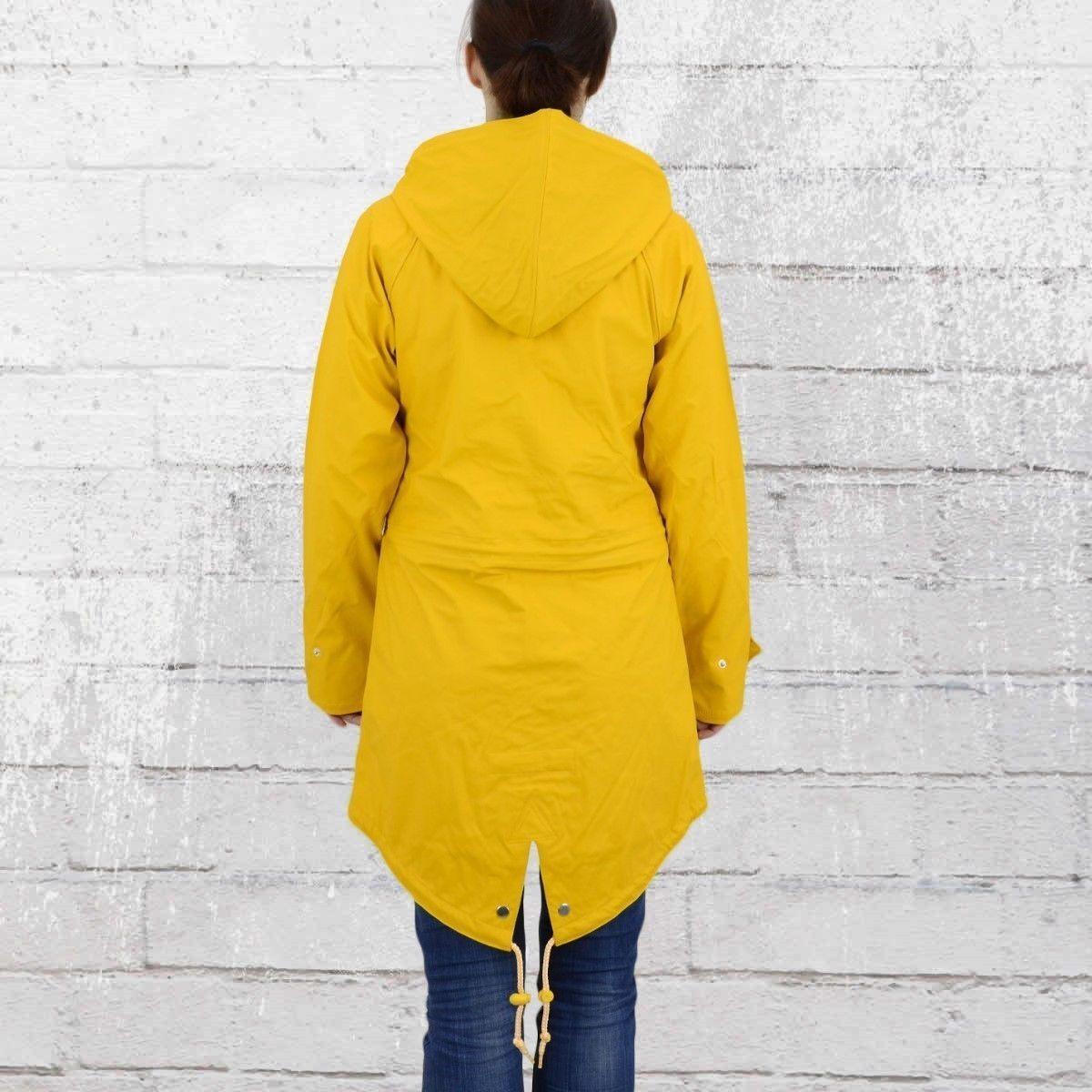 derbe damen regenjacke travel friese fisher gelb friesennerz regenmantel frauen in kleidung. Black Bedroom Furniture Sets. Home Design Ideas