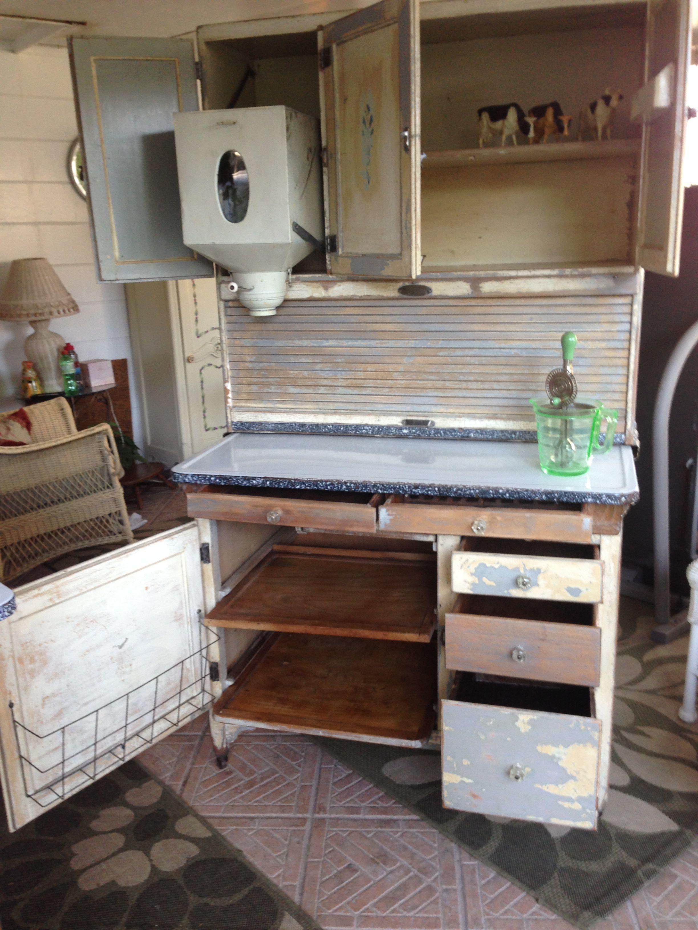 1920 S Sellers Brand Hoosier Style Kitchen Cabinet Original