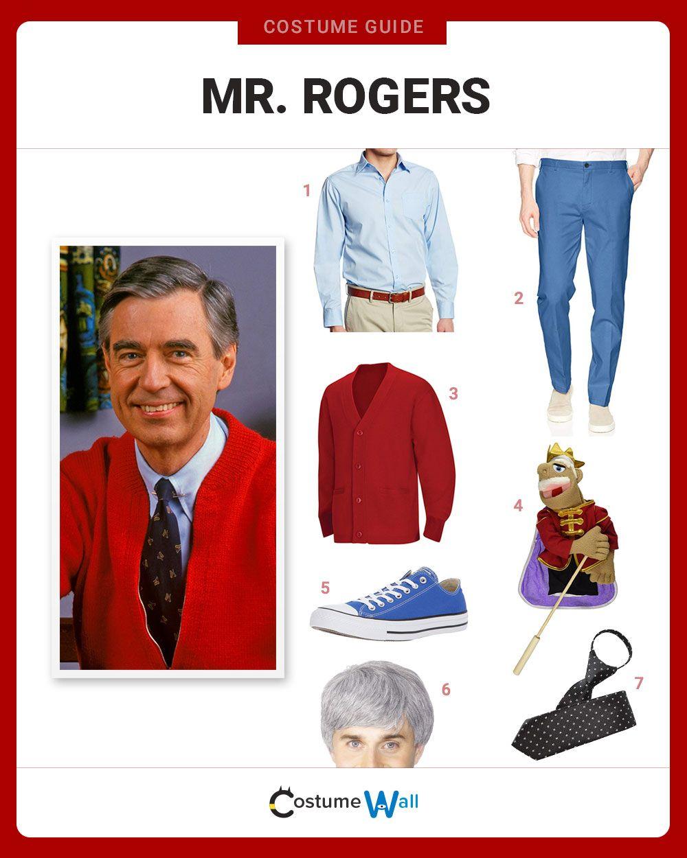 Dress Like Mr Rogers Tv Show Halloween Costumes Mr Rogers Halloween Costume Mens Halloween Costumes