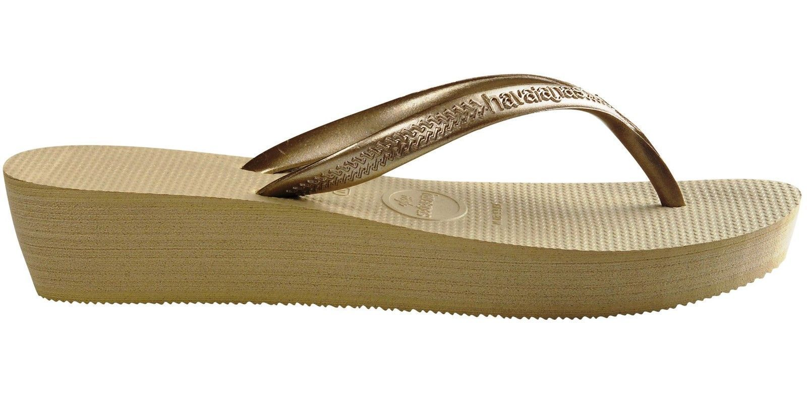 f39c3dfa3 Havaianas High Light Wedge Flip Flop Thong Sandal - Womens