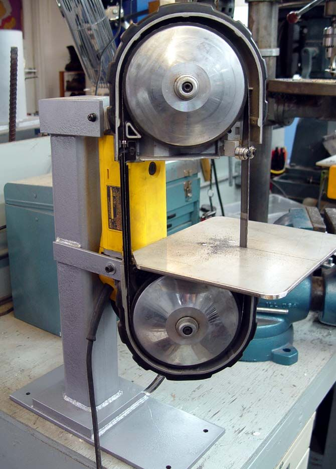 Portable Bandsaw Mounting Pictures Needed Bandsaw Metal Working Tools Portable Band Saw