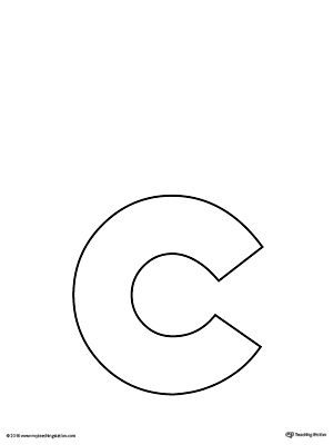 lowercase letter c template printable worksheetthe lowercase letter c template is an ultra useful all purpose letter template designed for use in a