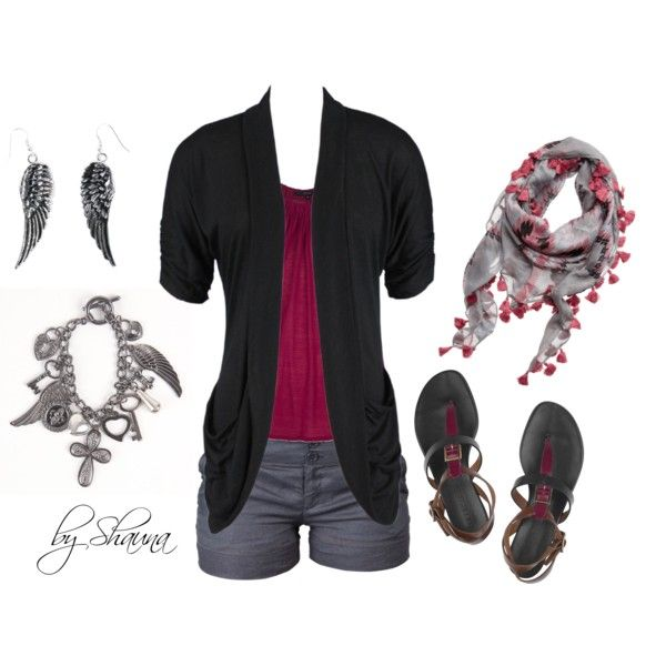 Gucci tank and adorable scarf