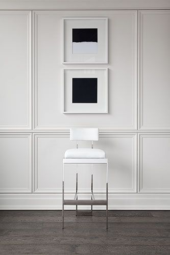 moulure salons pinterest parement mural lambris et deco. Black Bedroom Furniture Sets. Home Design Ideas
