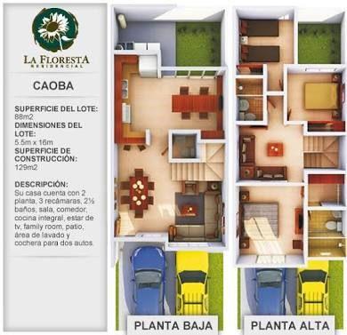 Resultado De Imagen Para Plantas Arquitectonicas En Terreno 6 X 16 Planos De Casas Modernas Planos De Casas Planos De Casas Economicas