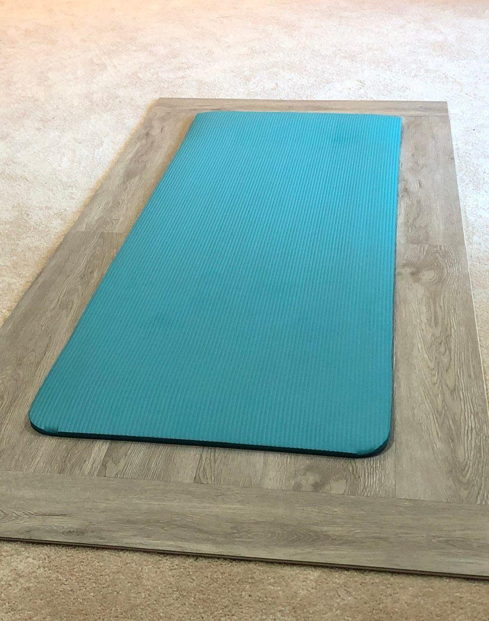 Diy yoga board for carpet practice in 2020 diy