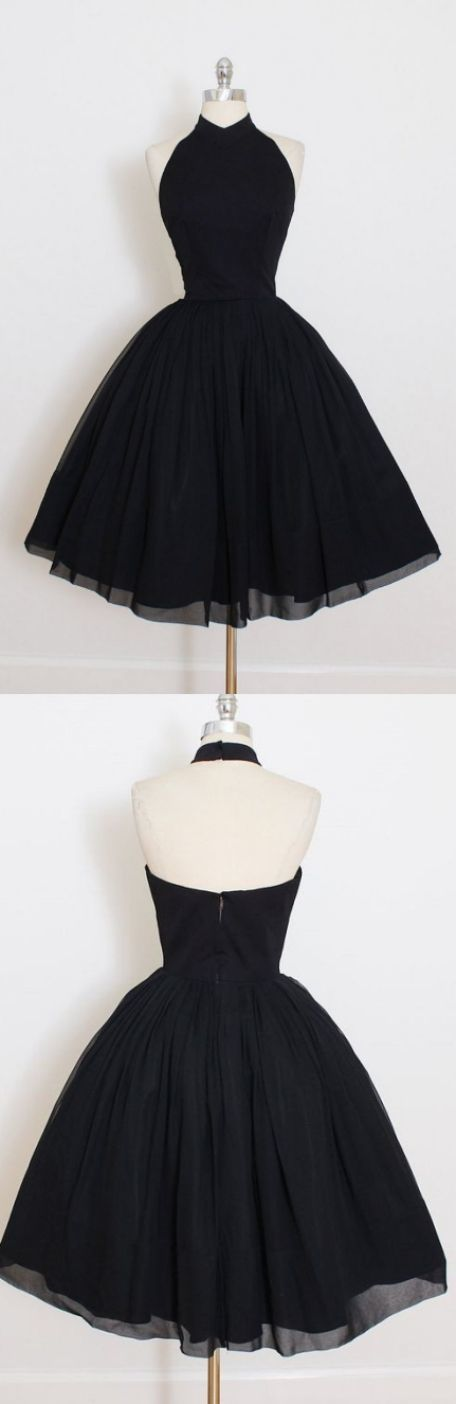 Photo of Schöne kurze Ballkleid Ballkleider, schwarz ärmellos mit plissierten Mini Homecoming Kleider