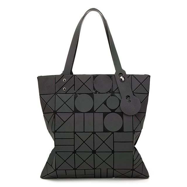 5a17a12cd4c1 Baobao Bag Japanese Trendy Chord Luminous Handbag 6 6 Geometric Tote Bags