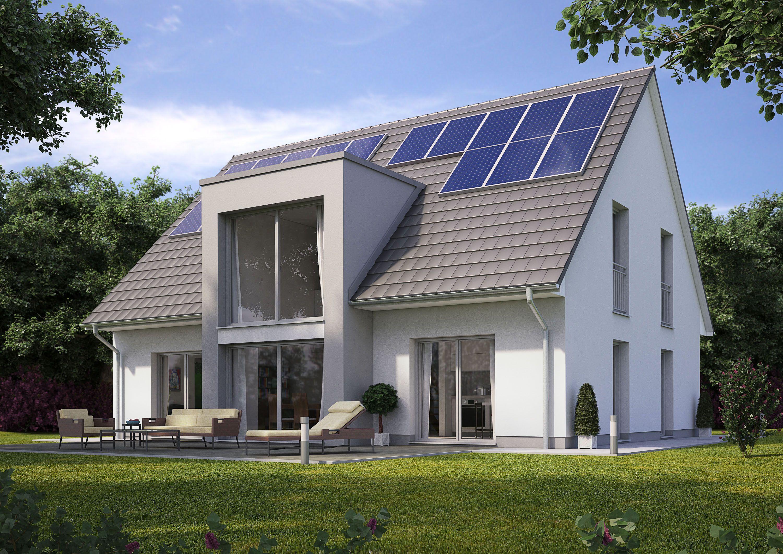 Energiesparhausplus, Haus Bauen, Fertighaus, Massivhaus