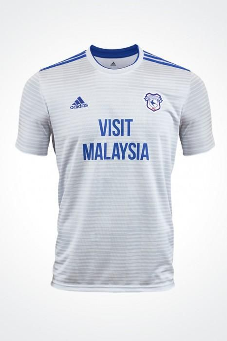 Cardiff City Away White 2018 -19 FÚTBOL SOCCER CLUB KIT SHIRT FOOTBALL  JERSEY FUSSBALL CAMISA TRIKOT MAILLOT MAGLIA BNWT . 6feaeba6b