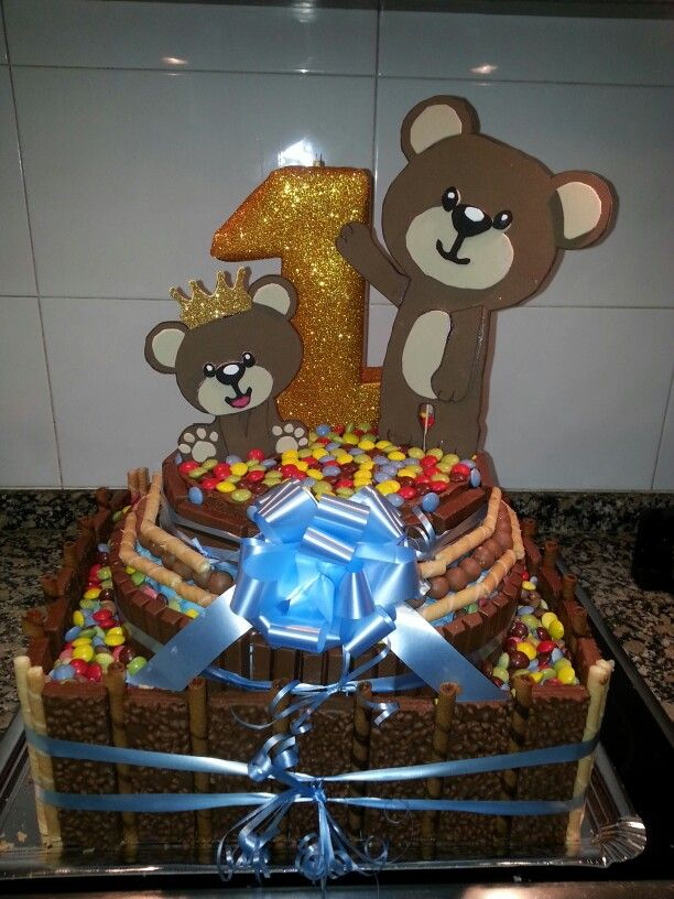 Tarta de chocolates para mi sobrino Mario!!!