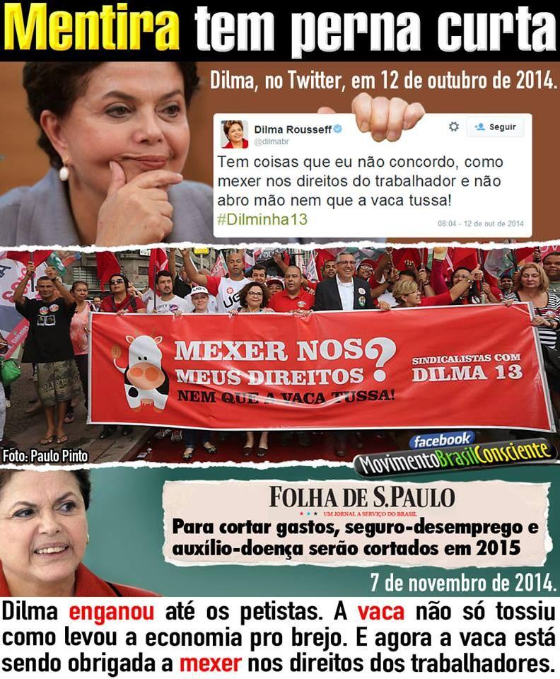 HELLBLOG: Tudo que Dilma acusou que o PSDB faria caso ganhas...