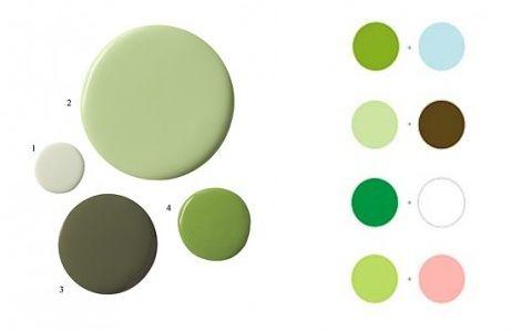 M s de 25 ideas incre bles sobre tonalidades de verde en - Gama de verdes ...