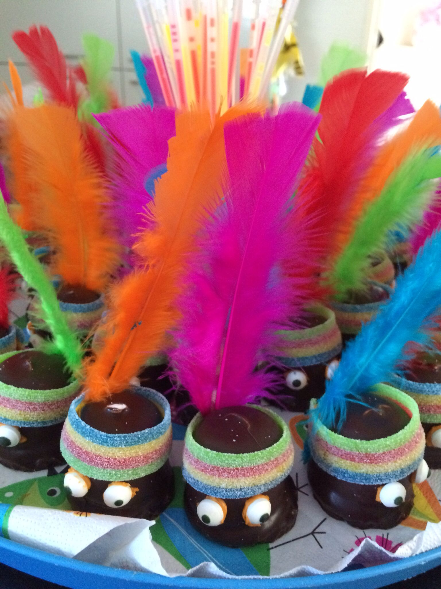 Zeer Traktatie Nout 7 jaar | traktaties | Pinterest | Kids party treats  #CE59