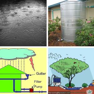 Home Implementations Of Rainwater Rainwater, Rainwater