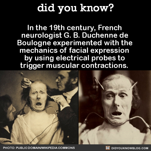 In The 19th Century, French Neurologist G. B. Duchenne De