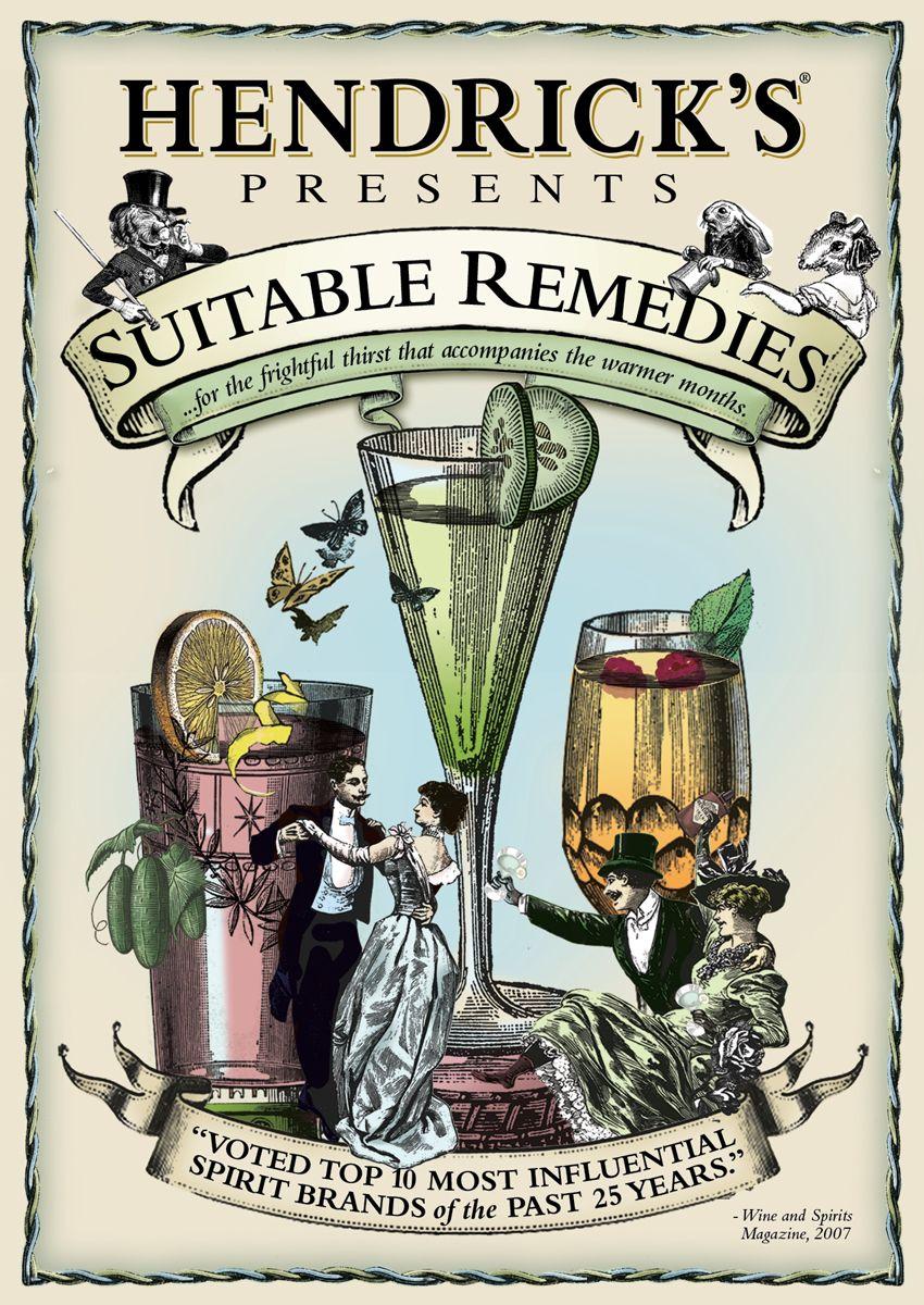 Hendrick's Gin Summer Cocktail Book & Recipes | Books ...