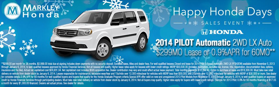 Get A Great Deal On A New Honda Pilot At Markley Honda In Fort Collins,  Colorado.