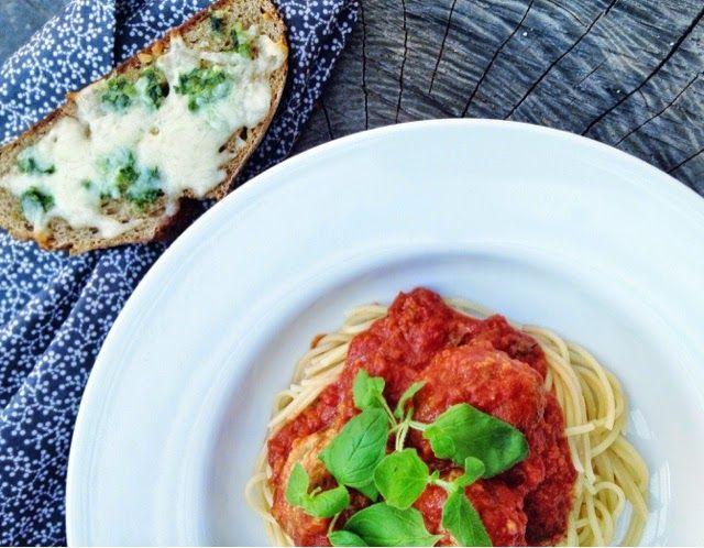 MarmeladeBallade: Spaghetti & Meatballs