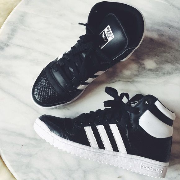 adidas in cuoio sneakers alte pinterest le adidas