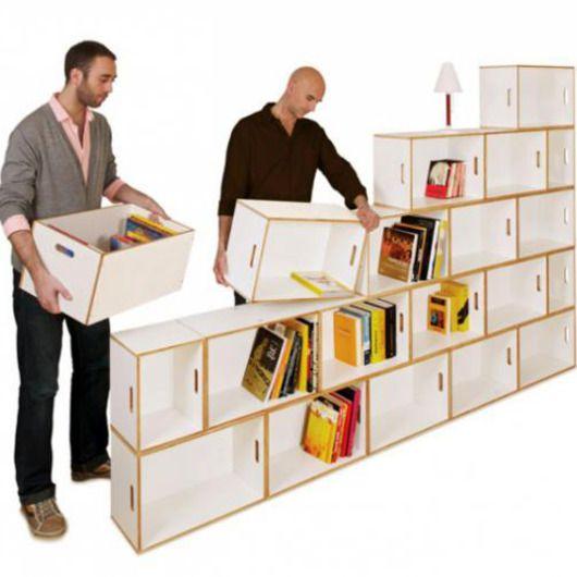 Les étagères BrickBox