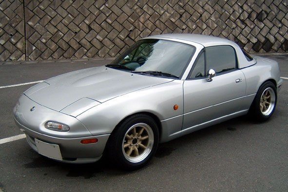 Silver Stone Metallic Na Silverstone Miata Mx 5 Mazda Miata Mx