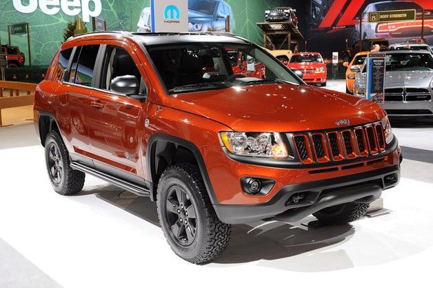 Chicago Auto Show Crossover Jeep Design Style Off Road