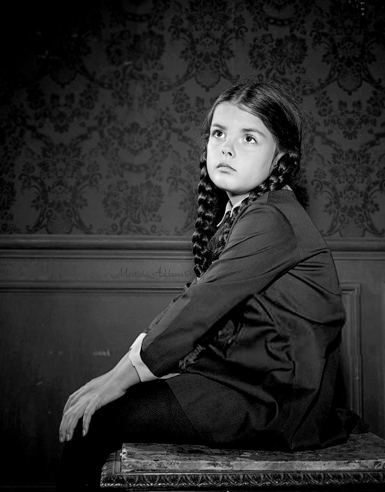 Lisa Loring as Wednesday Addams | T H E A D D A M S F A M ...