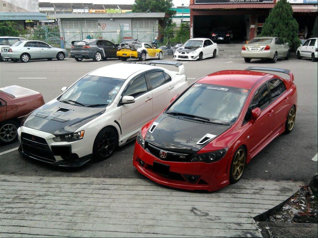 Honda Civic Mugen Rr Sports Modified Cars