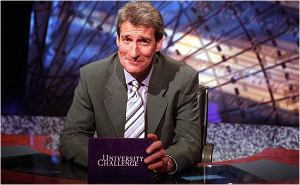 University Challenge Jeremy Paxman Asks The Questions As Two