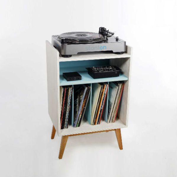 Mueble para tornamesa y vinilos ideas interior - Mueble para vinilos ...
