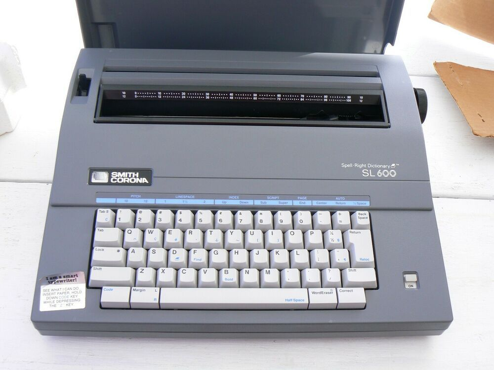 Smith Corona Model Sl600 Spell Right Dictionary Electronic