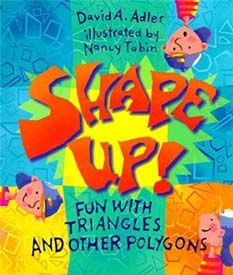 FUN book -- great for geometry lesson plans in Gr. 2-6!