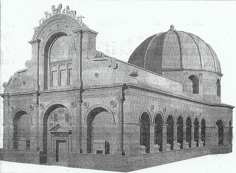 Leon Battista Alberti - Tempio Malatestiano; progetto iniziale.