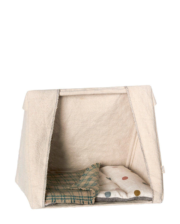 Encantadora tienda de campaña para ratoncitos. Incluye colchón y ...