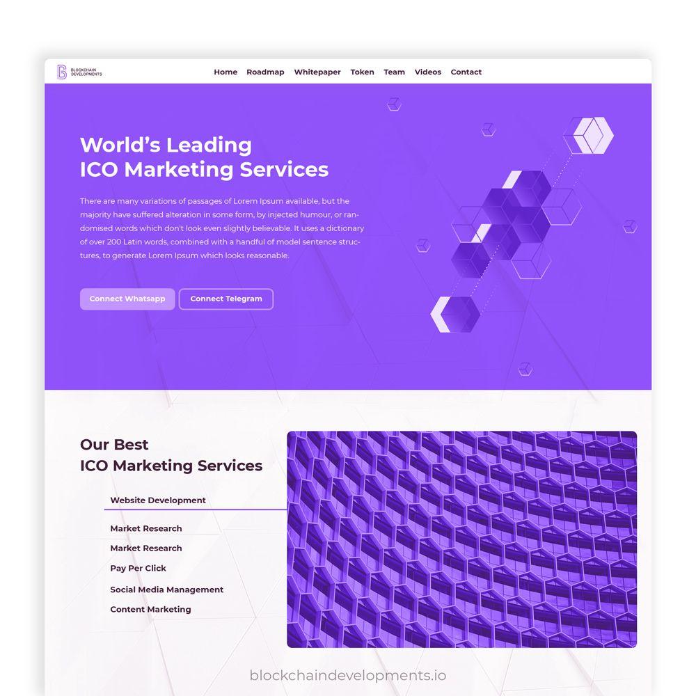 ico marketing platform