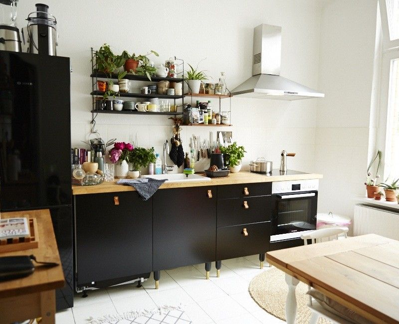ikea wohnk che kitchen interior design and home inspiration pinterest wohnk che ikea. Black Bedroom Furniture Sets. Home Design Ideas