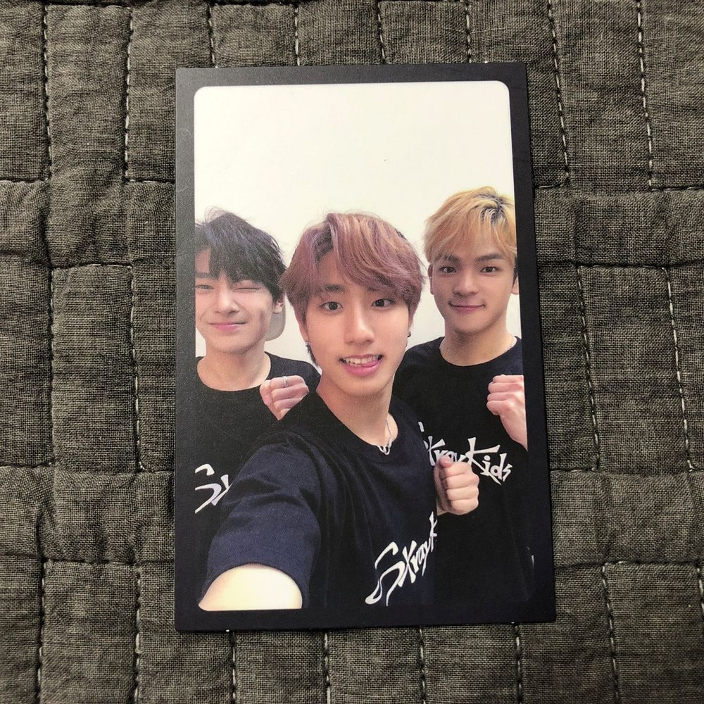 STRAY KIDS I N HAN WOOJIN Official PHOTOCARD I am NOT UNIT