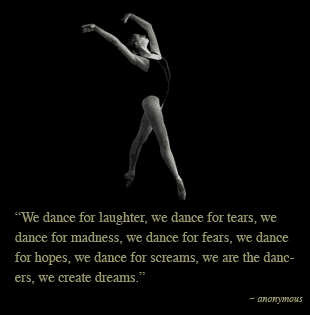 Tumblr Life Quotes On Dance